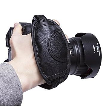 Amazon | カメラグリップ 手ブレとサヨナラ Beddingleerハンドストラップ