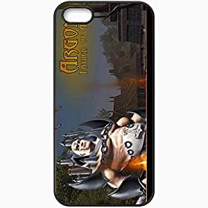 Personalized iPhone 5 5S Cell phone Case/Cover Skin Alganon Black