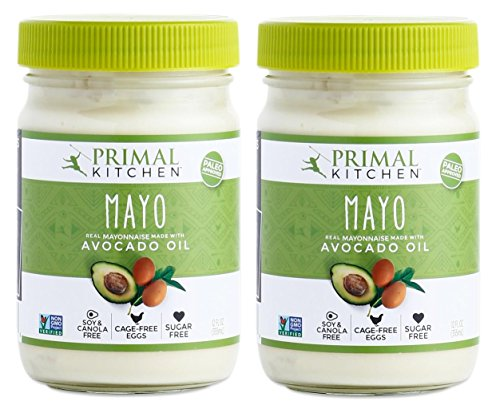 Primal Kitchen Mayonnaise with Avocado Oil, (Original, 12 OZ Jar - 2 Pack)
