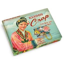 Blue Q Random Crap Pocket Box