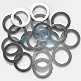 PA (20) OEM Oil Drain Plug Washer Gaskets For Mazda Part# 9956-41-400