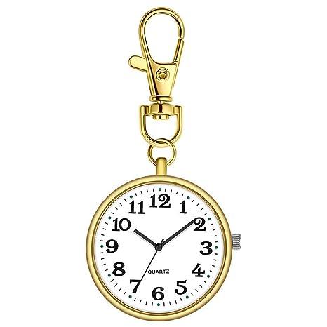2147 Nurse Pocket Watch Digital analógico Llavero ...