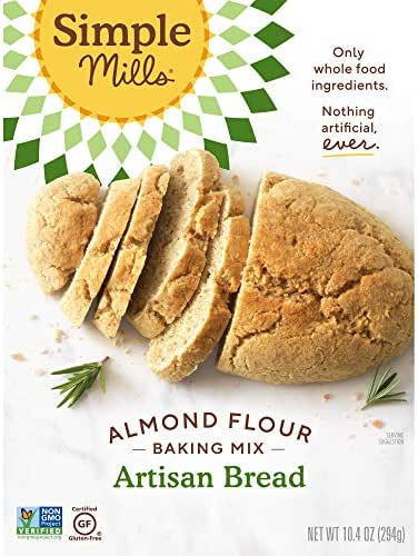 Baking Mixes: Simple Mills Artisan Bread Almond Flour Mix