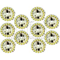 Tulsi Enterprises 9 W Direct on Board LED Bulb Mcpcb Raw Material (White) - Pack of 10