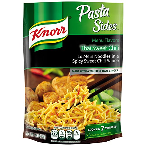 Knorr Menu Flavors Pasta Side Dish  Thai Sweet Chili 4 5 Oz  Pack Of 8