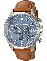 Michael Kors Men's Quartz Stainless Steel Automatic Watch, Color:Silver-Toned (Model: MK8490)