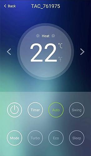 Aire acondicionado reversible con unidades separadas, control a ...