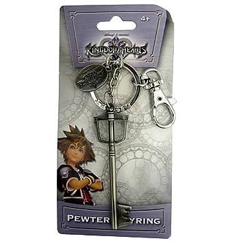 Kingdom Hearts Llaves espada Disney Pewter Llavero: Amazon ...