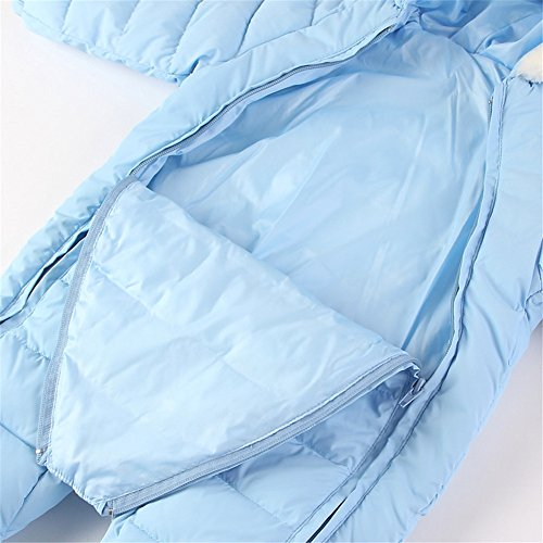 Mud Kingdom 3 Piece Baby Toddler Girl All in One Snowsuit ...