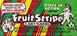 Fruit Stripe Bubble Gum, 1.8 Ounce Pack, Pack of 192