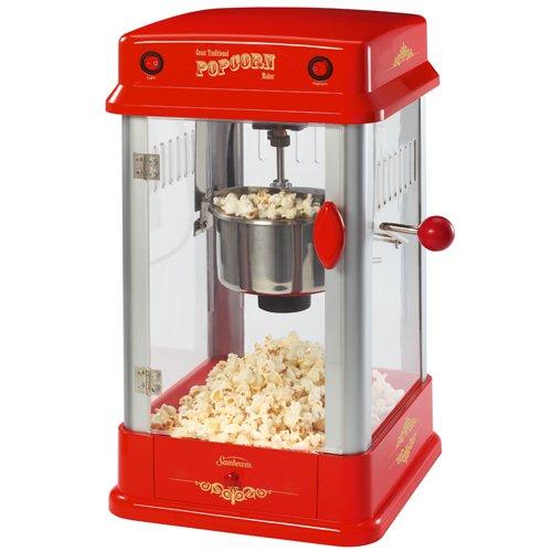 Sunbeam FPSBPP7310-000 Theatre-Style Popcorn Maker, Red
