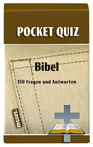 Pocket Quiz Bibel: 150 Fragen & Antworten (Pocket Quiz / Ab 12 Jahre /Erwachsene)