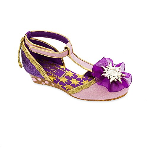 Disney Rapunzel Costume Shoes for Girls Size 7/8 TODLR Purple for $<!--$22.99-->