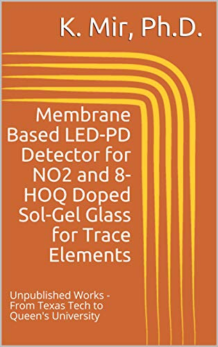 Membrane Based LED-PD Detector for NO2 and 8-HOQ Doped Sol-Gel