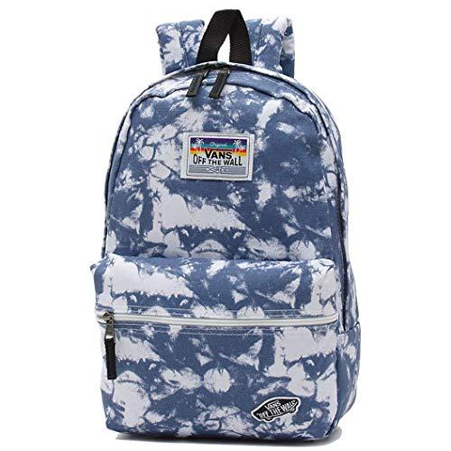 - Vans Mini Off The Wall Backpack Acid Blue Wash Calico