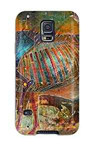 Oscar M. Gilbert's Shop Unique Design Galaxy S5 Durable Tpu Case Cover Artistic Artistic
