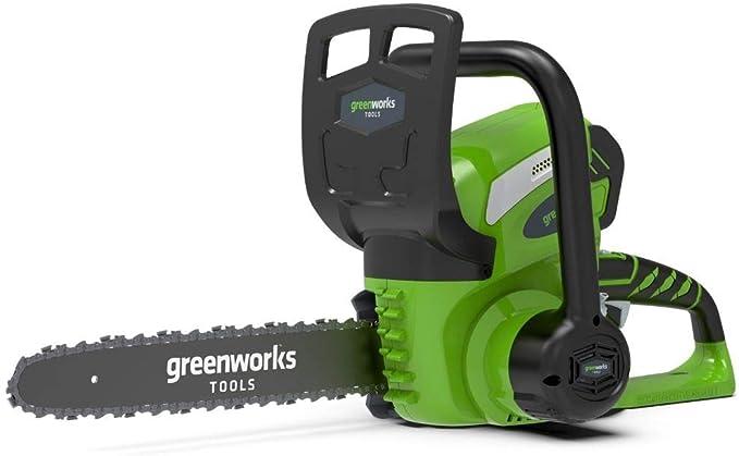 Greenworks G40CS30K2 Espada 30 cm Peso 3,90 Kg Bateria 40 V 2Ah (incluida)