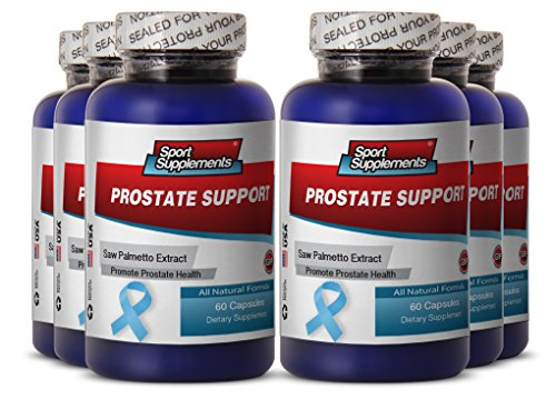 prostate formula - Prostate Support - supreme Prostate support supplement to support prostate health and sexual pleasure (6 bottles 360 capsules) by Sport Supplement