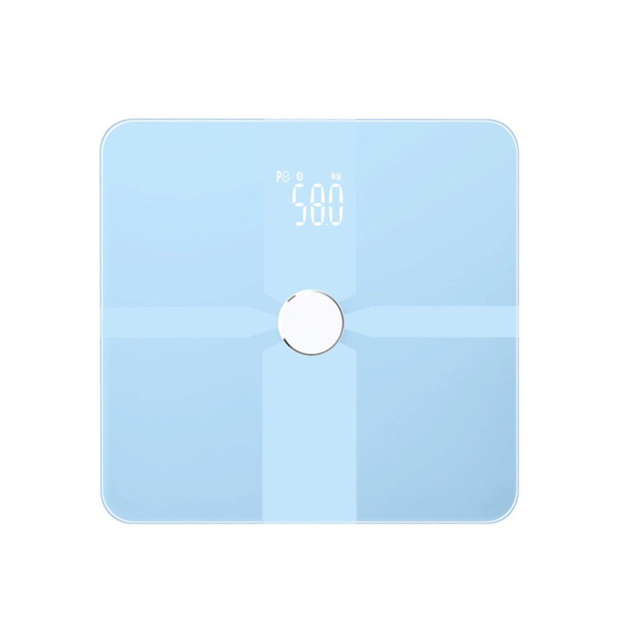 Escalas Cuerpo Sano Bluetooth Balanzas Electrónicas De Alta Gama De Moda Escala De Peso Inteligentes,Blue: Amazon.es: Hogar