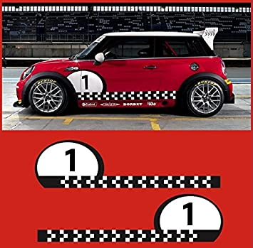"Mini Cooper Hatchback Cooper S R53 R56 6/"" Custom Vinyl Decal"