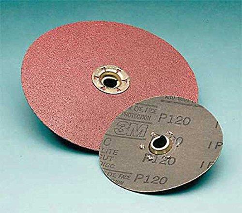 3M Cubitron 983C Coated Ceramic Quick Change Disc - 50 Grit - 7 in Dia - 8600 Max RPM - 66909 [PRICE is per DISC] by 3M