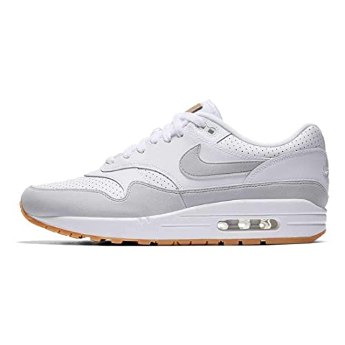 the best attitude 2fda6 d6dd3 Nike Men s Air Max 1 Shoe (10 D(M) US, White