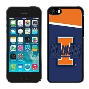 Customized Iphone 5c Case Ncaa Big Ten Conference Illinois Fighting Illini 8