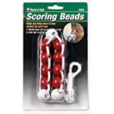 JEF World of Golf 505SB Gifts and Gallery Incorporated Scoring Beads (Red/White)