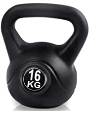 16KG Kettlebell Set Kettle Bell Weight Plates Home Gym Fitness Exercise Workout Training Bench Press Squat Everfit