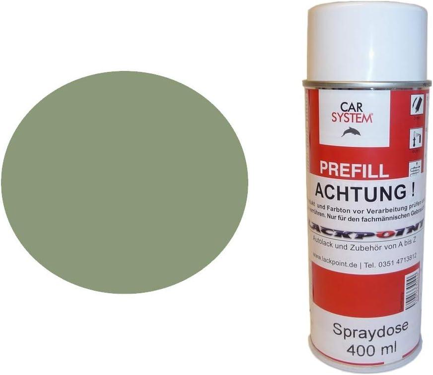 Lackpoint Spraydose 400ml 1 Komponenten Autolack Ral 6021 Blassgrün Glanz Auto