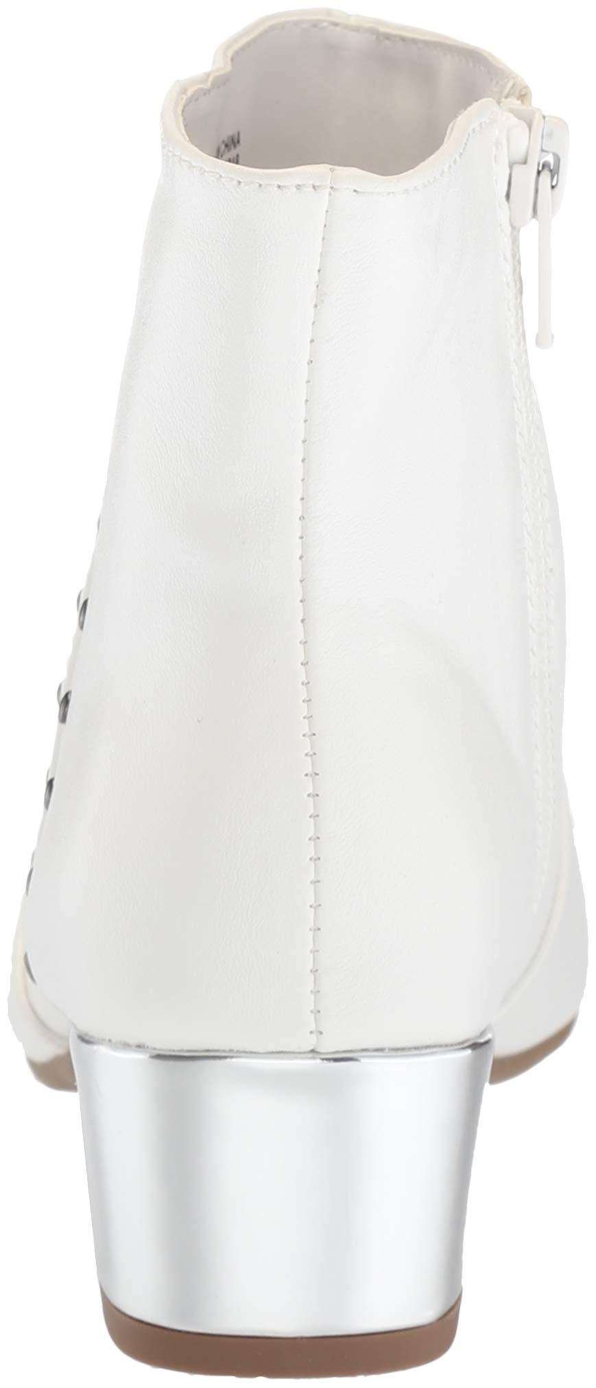 The Children's Place Girls' Bootie Fashion Boot, White, Youth 3 Child US Little Kid by The Children's Place (Image #2)
