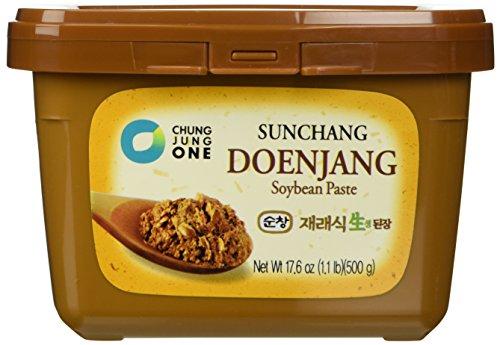 Korean Sunchang Sauce Paste - 500g (Pack of 2) (Doenjang Soybean Paste) (Soybean Paste)