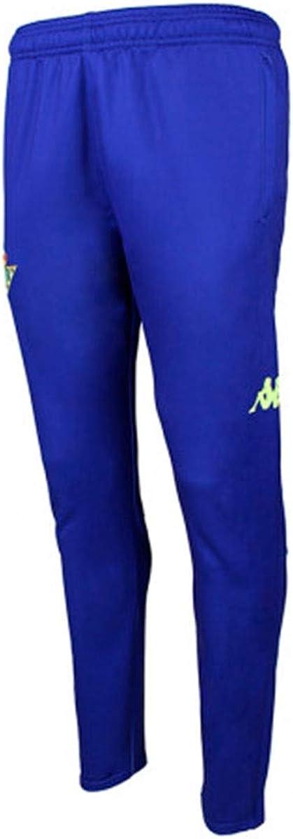 Ni/ño Kappa Abunszip 2 Pants Real Betis Balompi/é 2018//2019 Azul Royal Pantal/ón largo de entrenamiento