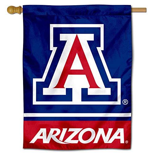 Arizona Wildcats Blue House Flag Banner - House Banner Flag University