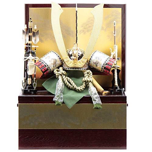 五月人形【アウトレット】 兜収納飾り【長鍬形】 幅65cm[195it1055] 端午の節句 B07MKJG7Q7