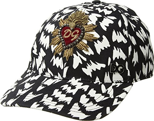 Dolce & Gabbana Men's Sacred Heart Baseball Cap Black 59 (US LG)