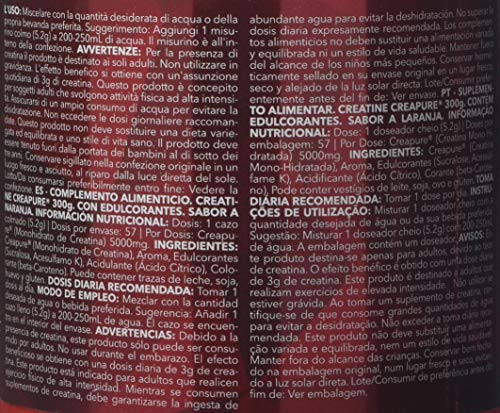 Prozis Creatine Creapure, Natural - 300 gr: Amazon.es: Salud y cuidado personal