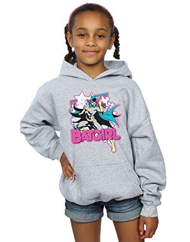 DC Comics Girls Batgirl Leap Hoodie 7-8 Years Sport -