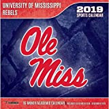 Mississippi Rebels 2019 Calendar