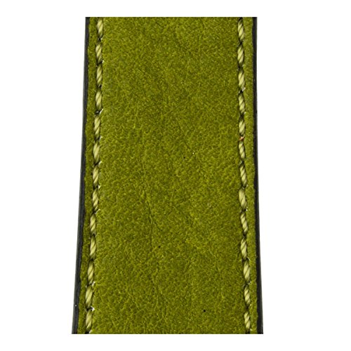 Roobaya | Premium Sauvage Leather Apple Watch Band in Moss Green | Includes Adapters matching the Color of the Apple Watch, Case Color:Rose Gold Aluminum, Size:38 mm by Roobaya (Image #5)