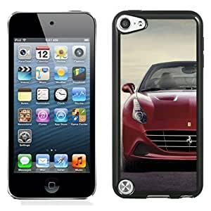 New Personalized Custom Designed For iPod Touch 5th Phone Case For 2015 Ferrari California Red Phone Case Cover