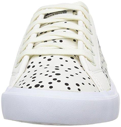 Le Coq Sportif Courteline Dots - Zapatillas de Deporte de canvas mujer Blanco - Blanc (Marsh Mallow)