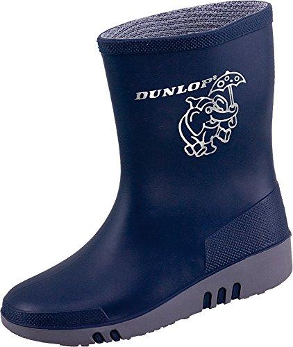 Dunlop Mini Kinder Gummistiefel Blau