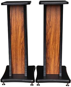 Amazon.com: Speaker Stands Surround Sound Floor Stand Solid Wood