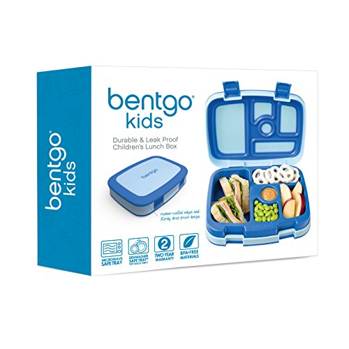 Bentgo Kids Childrens Lunch Box Bento Styled Lunch