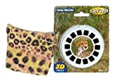 : Safari Animals - ViewMaster 3 Reels and Leopard Storage Case - A unique gift