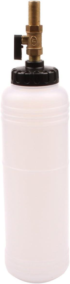 Supercrazy Central Pneumatic Brake Fluid Bleeder Tool Kit Master Cylinder Adapters 90-120 PSI SUK0086