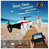 DKRC WLtoys Q242-G Hexacopter RC Drone 2.4G 4CH Quadcopter 3D Rollover Remote Control Helicopter Dron with 2.0MP (Color Randomly)