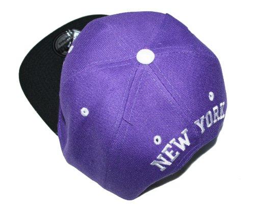 morado Headwear única hombre de béisbol morado para Premium Talla Gorra YzPdqwq