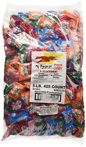 Zotz Assorted Sour Fizzing Candies - 5 Lbs
